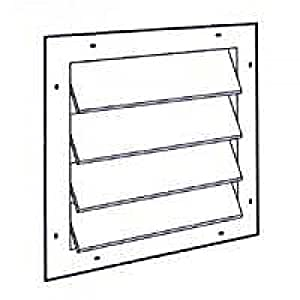 Gable Louver Automatic Gable Vents Amazon Com