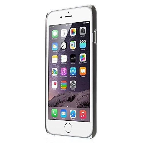"""Apple iPhone 6Coque de protection Housse Coque Case Inscription en allemand """"Amour Believe Orange decui Orange plastique rigide Coque"""