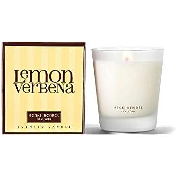 Amazon.com: Henri Bendel Lemon Verbena Scented Jar Candle ...