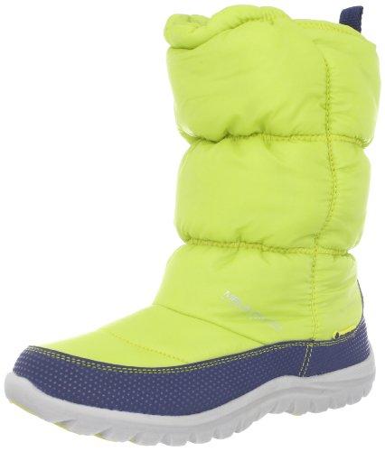 Mountrek Womens Laura Cabin Puff Snow Boot Lime