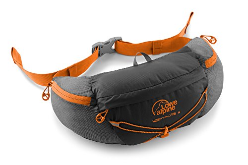 LOWE ALPINE LIGHTFLITE 5 BELTPACK (ANTHRACITE/PUMPKIN) by Lowe Alpine
