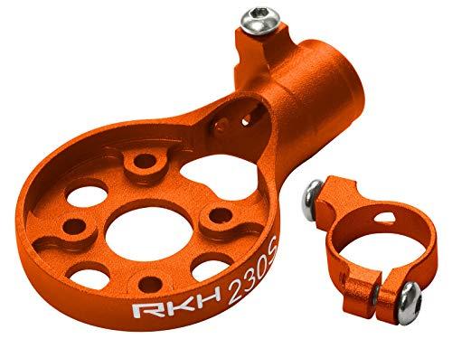 Rakonheli CNC AL Tail Motor Mount Set (Orange) - Blade 200 S, 230 S/V2, 250 CFX