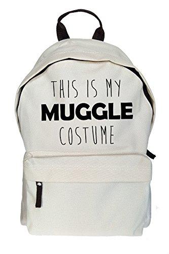 This Is My Muggle Costume Drucken Rucksack Gelegenheits Beige Tasche