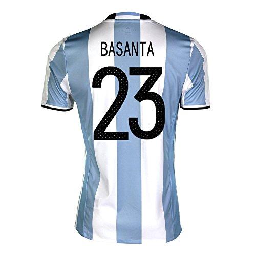 ささいな識字敬礼Basanta #23 Argentina Home Soccer Jersey Copa America Centenario 2016/サッカーユニフォーム アルゼンチン ホーム用 バサンタ 背番号23
