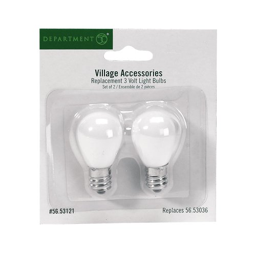 Department 56 Accessories for Villages Replacement 3-Volt Light Bulb
