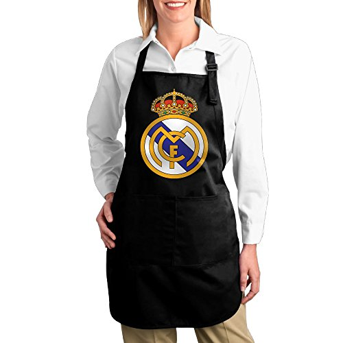 Price comparison product image FUNNY MOPAD 2016 Real Madrid UEFA Champions Kitchen Apron With Front Pockets