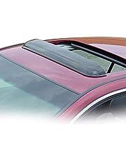 Wade 72-33106 36.5-Inch Wide Smoke Tint Sunroof Wind Deflector