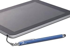 Acase 2nd Generation Apple iPad / Xoom/Transformer/Galaxy Tab/Iconia Tab/Play Book / All tablet PC Capacitive Stylus est Model(Lunar Blue) by Acase