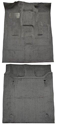 2000 to 2006 GMC Yukon XL Suburban Carpet Custom Molded Replacement Kit, 4 Door, Complete Kit (8075-Medium Grey Plush Cut Pile)