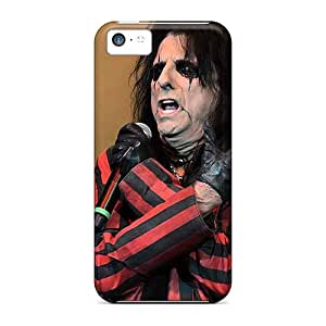 Shock Absorbent Hard Phone Covers For Iphone 5c With Support Your Personal Customized Trendy Alice Cooper Band Series RitaSokul