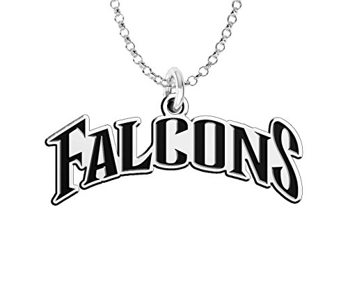 Air Force Falcons Word Mark Charm in Solid Sterling Silver