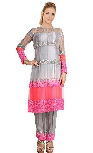 Mishka Women's Stylish Fashionable Exclusive Salwar Suit XXXXXXXXXXX-Large - 60