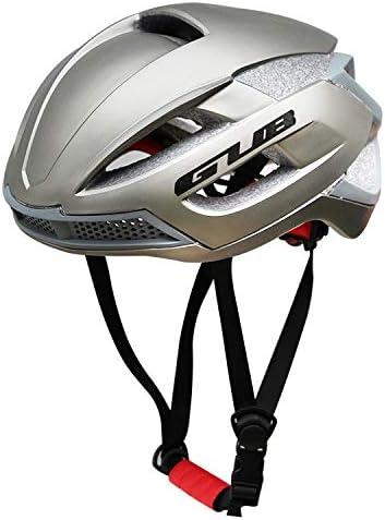 CDKET 11の穴が付いている調節可能な軽量のスポーツ様式のサイクリングヘルメット (Color : グレー)