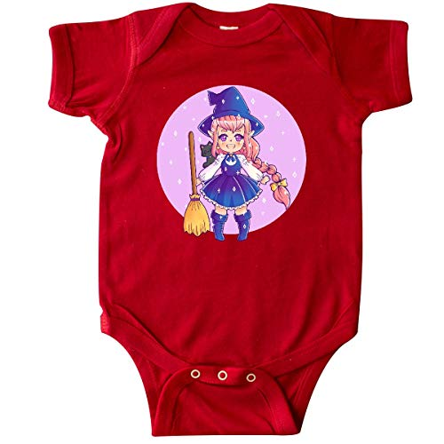 inktastic - Halloween Cute Chibi Anime Witch Infant Creeper 24 Months Red 369f0]()