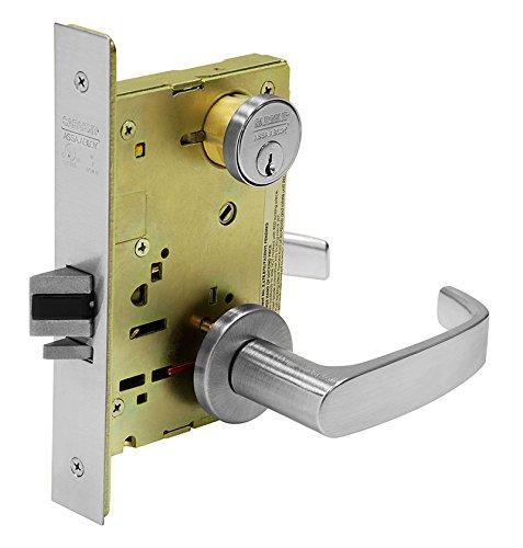 Sargent Locks Mortise (Sargent 8271-24V LNL 26D Electric Mortise Lock, 9.25