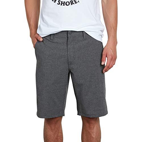 Hybrid Shorts - Volcom Men's Frickin SNT Static 21