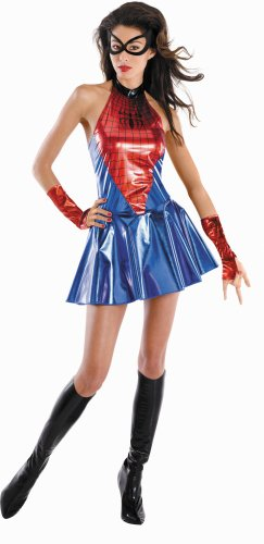 Child Deluxe Spidergirl Costumes (Deluxe Spider-Girl Costume - Small - Dress Size 4-6)