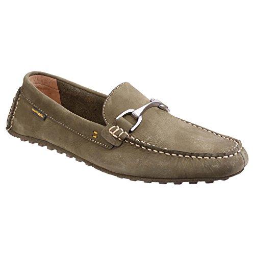 Hush Puppies - Zapatos sin cordones modelo Longin Terveen para hombre Marrón tostado