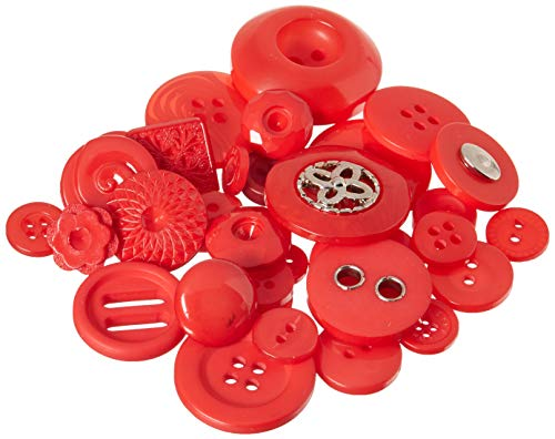 Buttons Galore and More Haberdashery Collection - Extensive Selection of Novelty Buttons and Embellishments for DIY Crafts, Scrapbooking, Sewing, Cardmaking, and other Art & Creative Projects from Buttons Galore and More