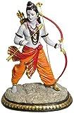 "Krishna Culture Lord Rama with Bow 13"" Statue Ramayana Hindu God Golu Doll"