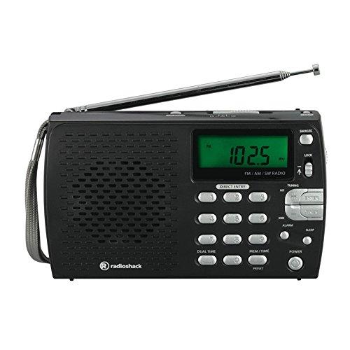 RadioShack Compact Portable AM/FM Shortwave Radio (Shack Radio Am Radio Fm)