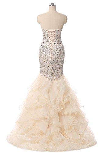 Promworld Damen A-Linie Kleid Rosa Korallenrot Korallenrot aiLMT0Ga7