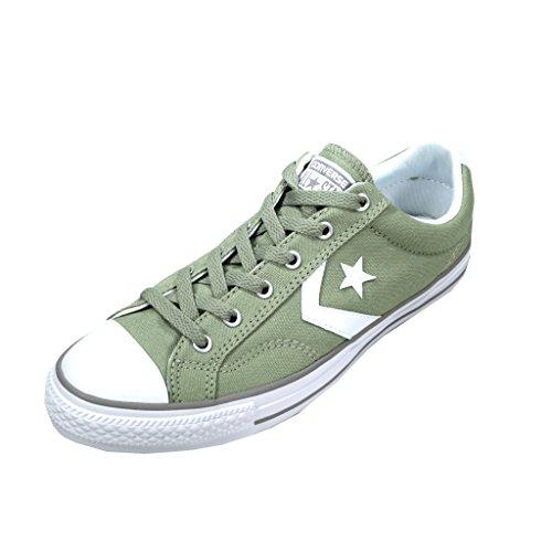 Calzado deportivo para hombre, color Verde , marca CONVERSE, modelo Calzado Deportivo Para Hombre CONVERSE CHUCK TAYLOR STAR PLAYER OX Verde Sage/White/Dolphin