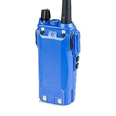 BaoFeng UV-82HP (Blue) High Power Dual Band Radio: 136-174mhz (VHF) 400-520mhz (UHF) Amateur (Ham) Portable Two-Way