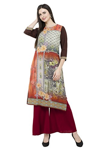 Lagi Kurtis Ethnic Women Kurta Kurti Tunic Digital Print Top Dress Casual Wear New Launch