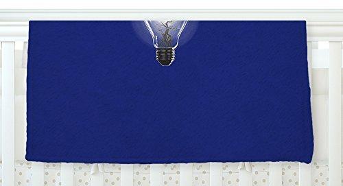 KESS InHouse BarmalisiRTB Bulb Blue White Fleece Baby Blanket 40 x 30 [並行輸入品]   B077ZMBP9V