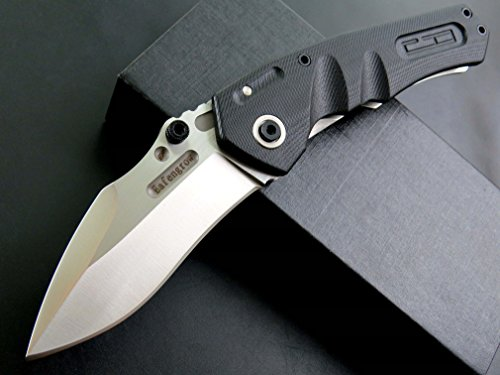 Eafengrow EF337 Folding Knife D2 Blade with G10 Handle Multi Pocket Knife Survival Outdoor Camping Survival Tool knives by Eafengrow (Image #1)