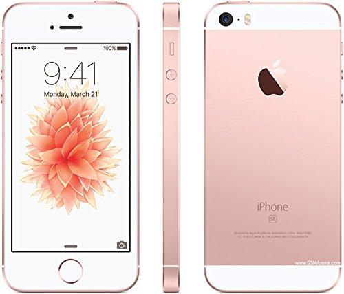 (Apple iPhone SE 32 GB Factory Unlocked, Rose Gold (Refurbished))