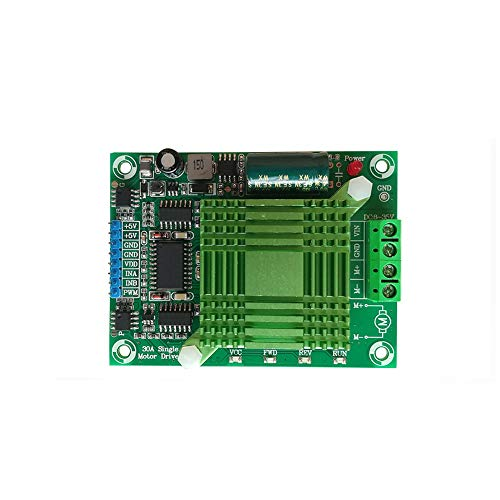 Taidacent 8-35V 30A Optocoupler Isolation Full PWM High Power H Bridge DC Motor Driver Forward and Reverse Single Phase Separately Excited DC Motor Drive