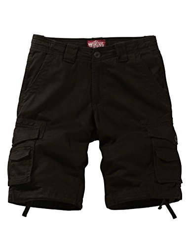 Match Men's Twill Comfort Cargo Short Without Belt #S3612 (Label Size 2XL/36 (US 34), Army Green)