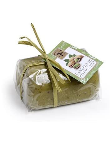 Handmade Sicilian Pistachio Marzipan Paste - 250g Package