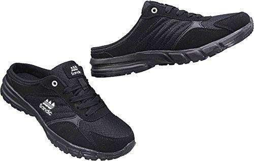 Sandic Herren Sabots Schuhe Sandalette Pantoletten Slipper Gr.41-46 Art.Nr.1698 Schwarz Schwarz