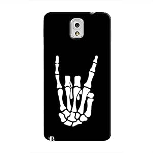 Cover It Up - Bone Hand Rock Galaxy Note 3 Hard case