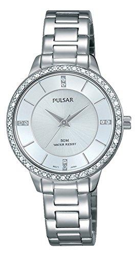 Pulsar Reloj Mujer de Analogico con Correa en Chapado en Acero Inoxidable PH8213X1