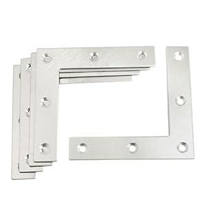 flat L-shape angle brackets