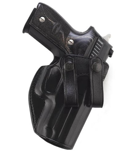 Galco Summer Comfort Inside Pant Holster for 1911 3 1/2-Inch Colt, para, Springfield (Black, Right-Hand)