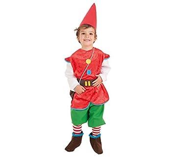 LLOPIS - Disfraz Infantil gnomo t-1: Amazon.es: Juguetes y juegos