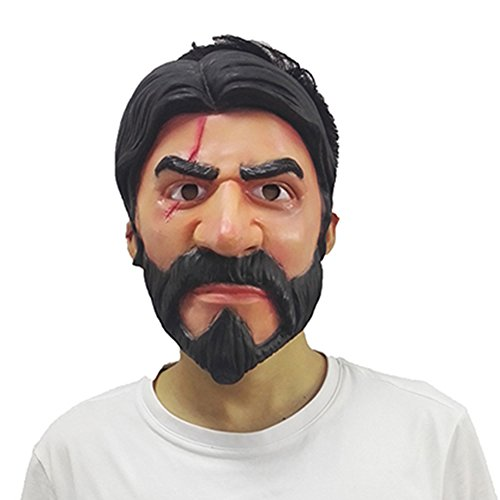 John Wick Reaper Replica Fortnite Skin Mask Halloween Cosplay