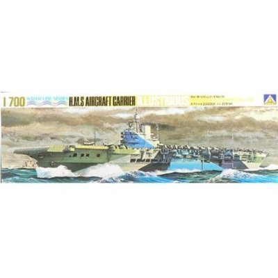 Aoshima H.M.S. Aircraft Carrier Illustrious Model Kit