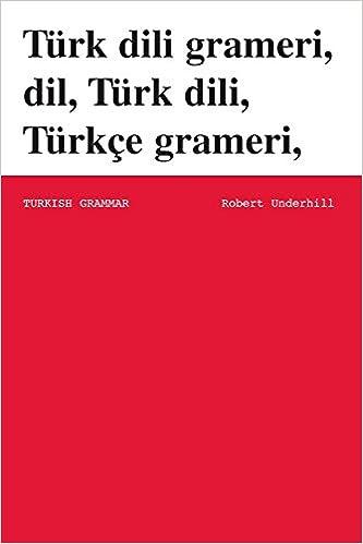 Book Turkish Grammar