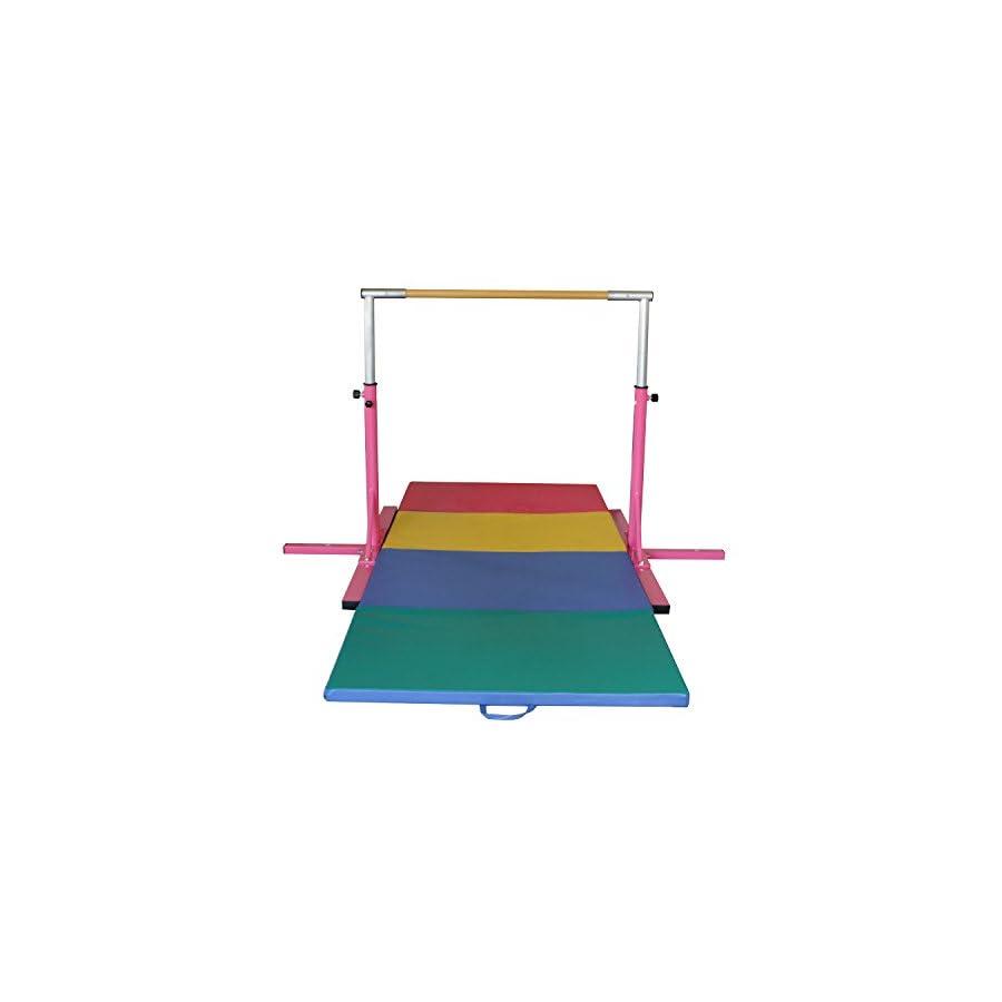 Bestmart INC Pink Adjustable (3' 5') Horizontal Bar