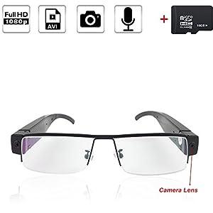 16GB 1920x1080P HD Eyewear Video Glasses Camera Mini DV Camcorder Sport Outdoor Camera