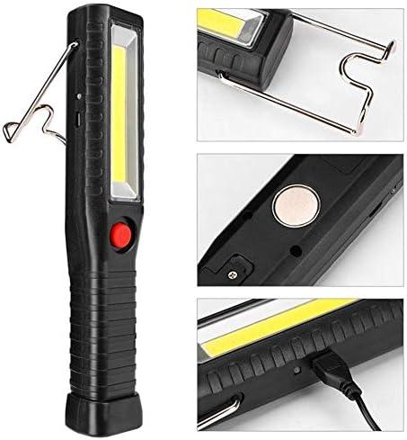 Camping Torch LED Lights Portable Outdoor Hunting Lights 18650 Battery Flashlight 2800 MAh 4 Modes EDC