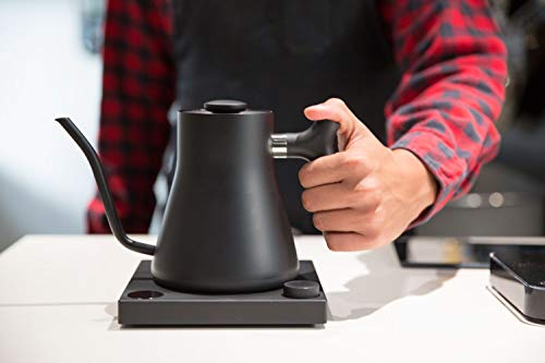Fellow Stagg EKG+ Bluetooth Connected Electric Pour-Over Kettle For Coffee And Tea, Matte Black, Variable Temperature Control, 1200 Watt Quick Heating, Built-in Brew Stopwatch by Fellow (Image #3)