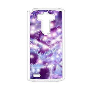 Purple aesthetic fractal fashion phone case for LG G3