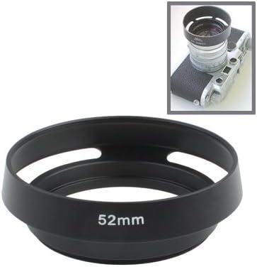 HyxppthiAAccessory Hyx 52mm Metal Vented Lens Hood for Leica Black Lens Hood